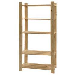 wooden you shelving 5 shelf unit rona