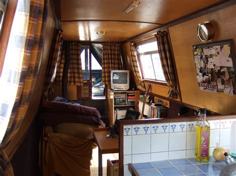 living on a boat edinburgh my narrowboat rambler interior for the narrow minded