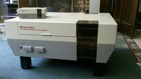 nes coffee table revives the well known console