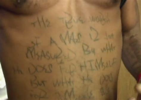 dmx tattoos 57thave on quot you guys seen dmx new stomach