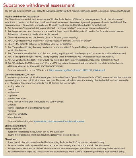 Detox Nursing Assessment by Psychiatric Assessment Strategies For Inpatients