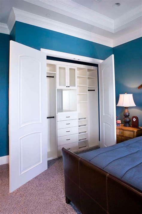bedroom closet systems 30 custom reach in closet storage system designs small