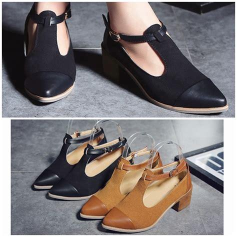 Sepatu Sendal Wanita Casual jual shfa12 black sendal casual fashion wanita cantik 5cm