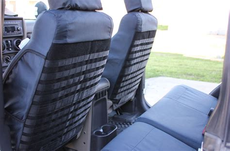Jeep Tactical Seat Covers New Jeep Jk Wrangler Ballistic Tactical Black Seat Covers