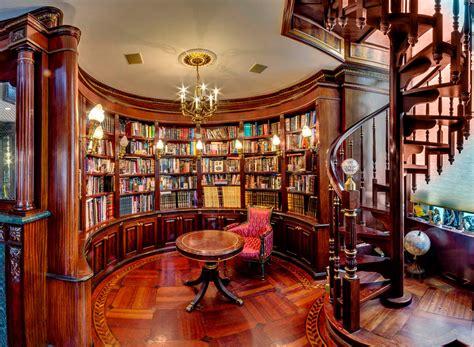 lavish design ideas  home library   world