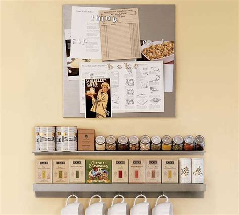 kitchen spices wall storage interior design ideas