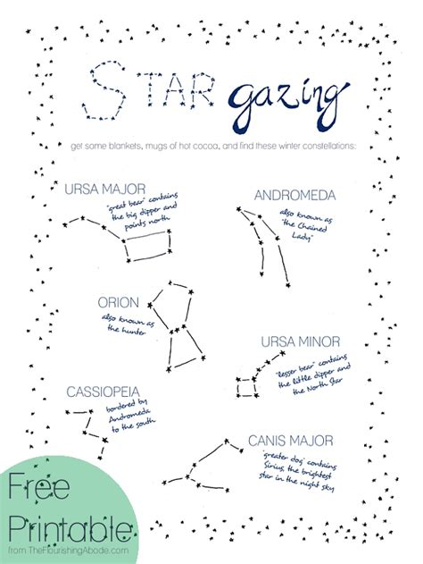 printable star map by date constellations for kids printables www pixshark com