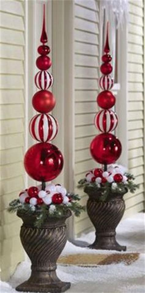 outdoor christmas topiary ideas 27 diy outdoor decorations ideas you will want to start