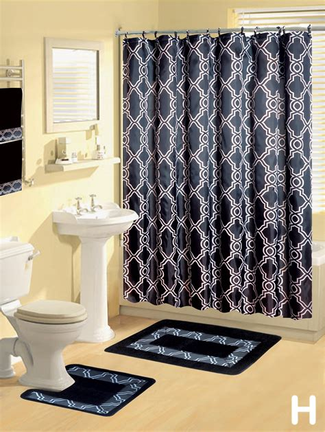 shower curtain and accessories bathroom rugs shower curtains best home design 2018