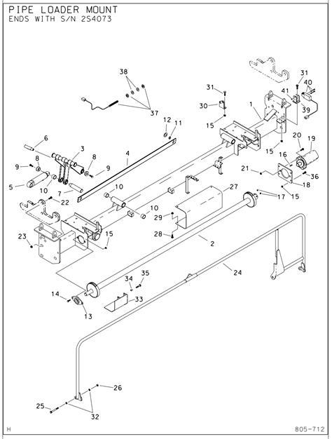 ditch witch parts diagram jt1720 lift arm part 359 722 ushdd supply