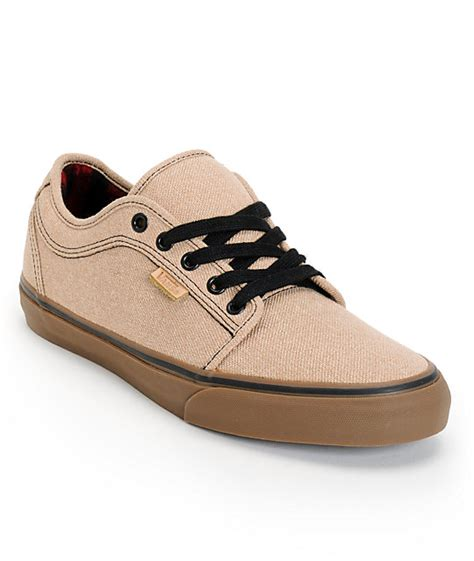 vans chukka low gum canvas skate shoe at zumiez pdp