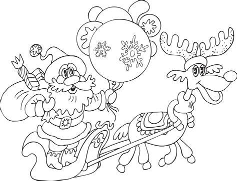 imagenes navideñas para colorear de papa noel dibujos de navidad para colorear im 225 genes navidad para