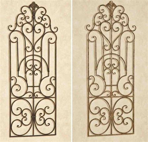 Wrought Iron Outdoor Wall Decor by Outdoor Wrought Iron Wall Decor Decor Ideasdecor Ideas