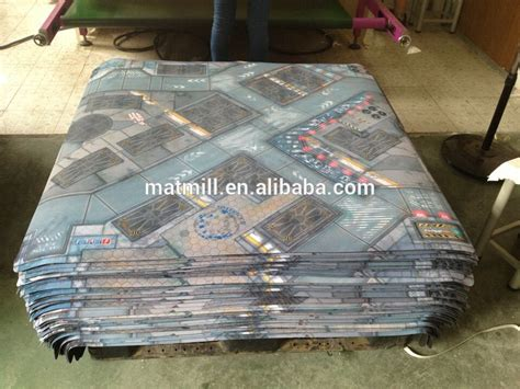 custom printed table mats custom design large size table mat printed neoprene