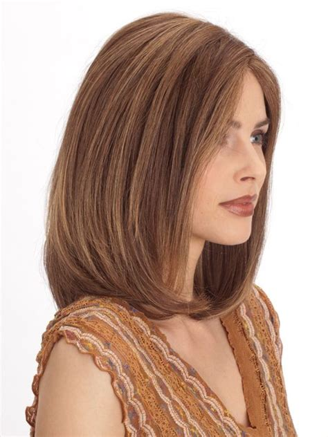 front hair lighter than back plf 002hm by louis ferre color marble brown frosted