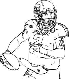 gallery for gt college football coloring pages