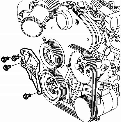 what is the best way to support the engine on my 2003