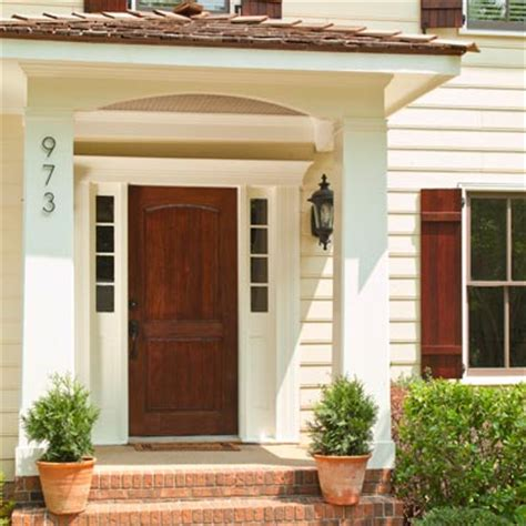 front door porch cost the project tally 7 small budget big impact upgrades
