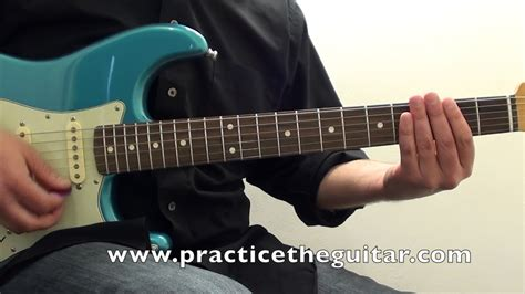 stevie ray vaughan pride  joy style blues guitar lesson texas blues fender strat youtube