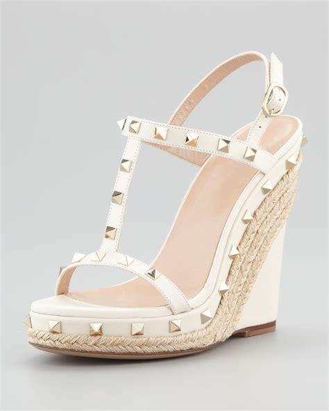 Ivory Wedge Sandals For Wedding by Ivory Wedding Shoes For Bridal Wedges Sandals Shoes