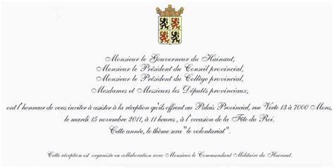 Exemple De Lettre D Invitation à Un Ministre Modele Invitation Ministre Document