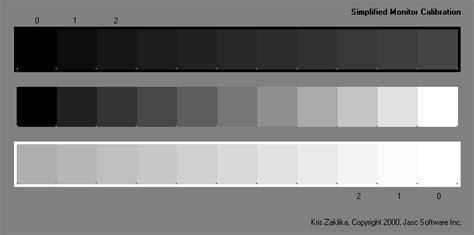 shades of black monitor calibration