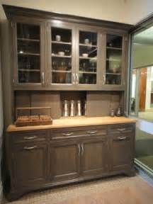 Hutch Cabinets Dining Room by Stanford Hutch In Greyer Oak