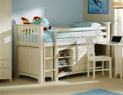 Cameo Bunk Bed Cameo White Sleep Station 10 Day Express Uk Delivery