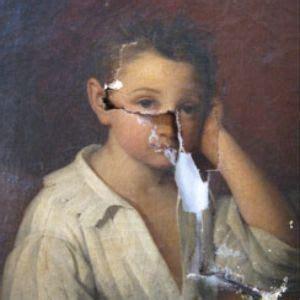 restaurar imagenes jpg dañadas c 243 mo es el proceso de restaurar una pintura al 243 leo
