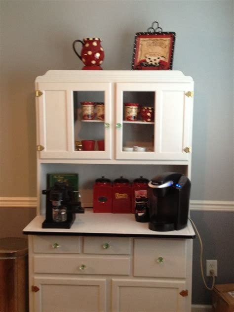coffee cabinets for kitchen coffee bar in a hoosier cupboard cafe the