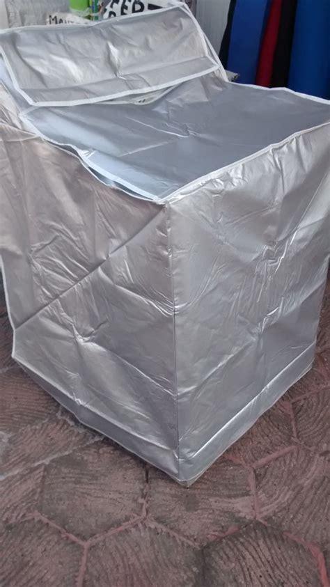 funda para lavadora plata de 8 a 17 kgs reforzada y - Funda Para Lavadora