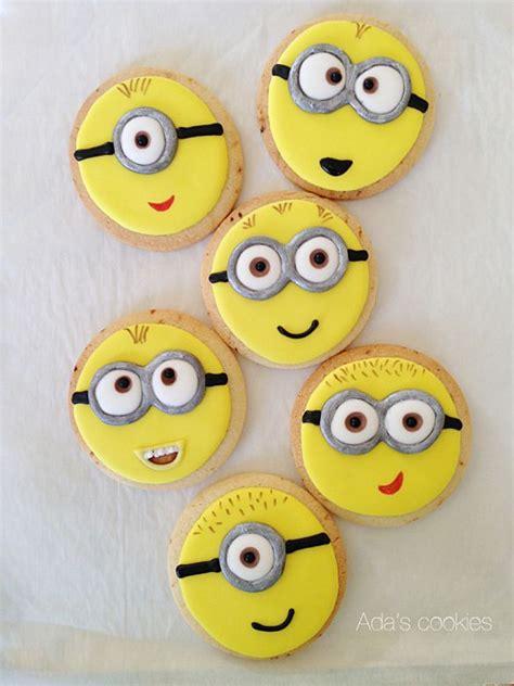 minion cookies despicable me