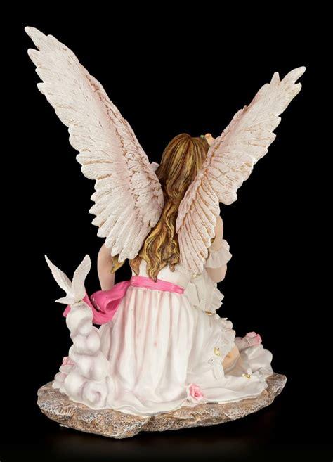 Home Interior Angel Figurines Guardian Angel Figurine White Dove Angel Decorative