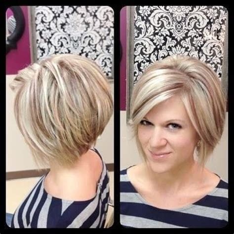 layered bob hairstyle easy daily haircut for women