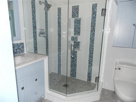 Shower Bathroom Pictures Tile And Showers Alone Eagle Remodeling