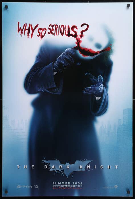 dark knight batman  original  poster art   movies