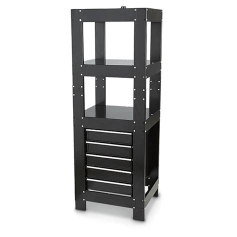 4 drawer storage tower famous maker 72 quot 5 drawer storage tower 420796 ladders