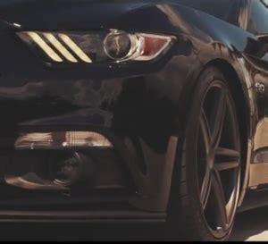 2015 ford mustang gt on 20″ matte graphite cv5 wheels