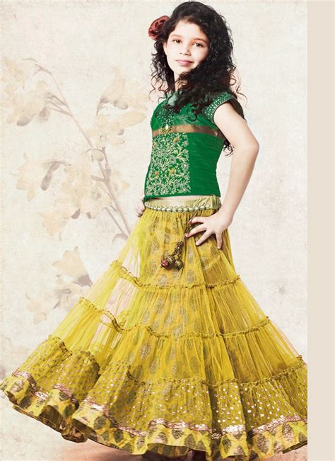 kids girls exclusive designs gowns lehnga suits lacha 1000 images about kids lehengas on pinterest yellow