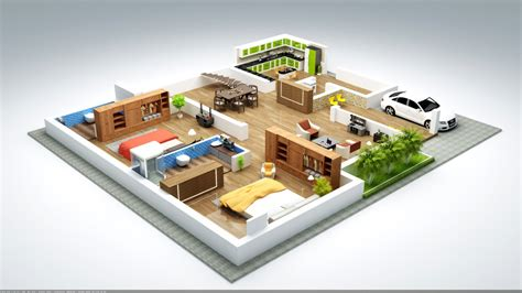 bedroom house plans   square feet