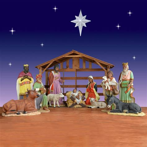 Outdoor Lighted Nativity by Best Outdoor Lighted Nativity Design All Home
