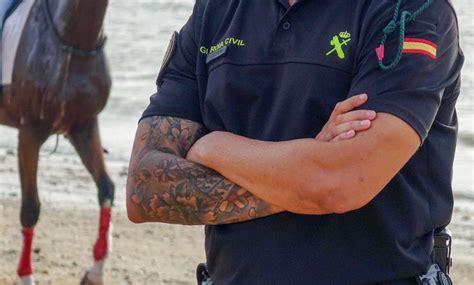 acenso con mobre de plicia nacional 2016 guardia civil ya permite ascender internamente con tatuajes