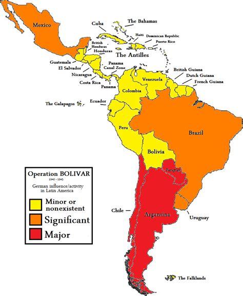 south america map 2 operation bol 237 var