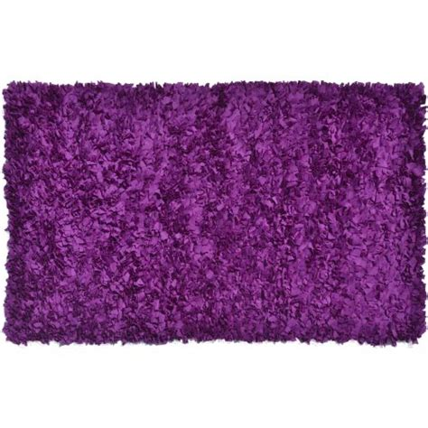 shaggy rag rug shaggy raggy plum shag rug rug