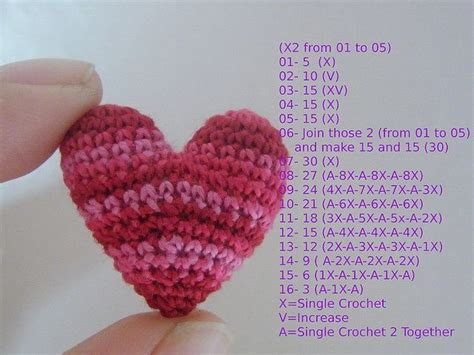 free pattern amigurumi heart 106 best images about amigurumi hearts stars on