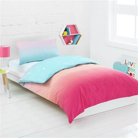 rainbow bedding for kids inspire the mood of your room