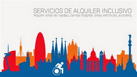 alquiler sillas electricas servicios alquiler inclusivo barcelona alquiler de sillas