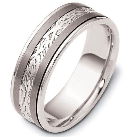 comfort fit titanium wedding bands 110601tg titanium gold comfort fit 7mm wedding band
