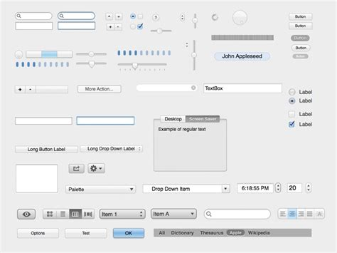 osx visio mac os x ui kit for visio omnigraffle fireworks illustrator