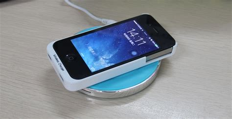 Noosy Snail Wireless Charger Transmitting Terminal 1 noosy wireless charger receiver for iphone 4 4s ns04